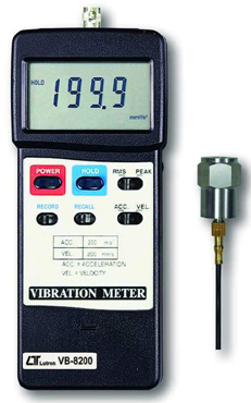 Vibration Meter Lutron VB-8200